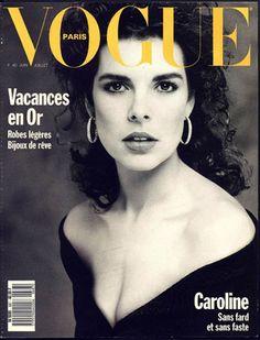 Vogue Paris ~ Caroline de Monaco ~ June 1988