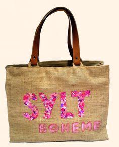 """""""Sylt Boheme Pink"""" Beach bags www.sylt-boheme.de"""