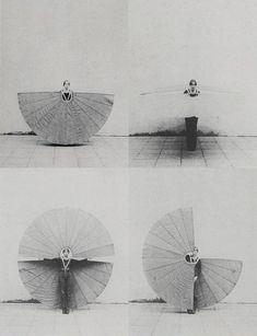 Rebecca Horn, White Body Fan, 1972