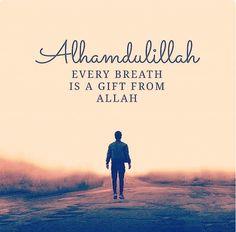 Alhamdulillah. Thank you Ya Allah