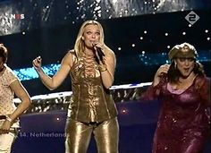 Esther Hart - One more night HD - Eurovision Song Contest 2003 Netherlands -