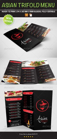 Luxury Restaurant Menu Design Template Restaurant menu design - food menu template