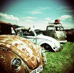 Old VW's