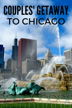 Guide: A Couples' Long Weekend Getaway to Chicago In need of a couples getaway? Try this itinerary for a long weekend in Chicago.In need of a couples getaway? Try this itinerary for a long weekend in Chicago. Weekend Getaways For Couples, Romantic Weekend Getaways, Weekend Trips, Long Weekend, Visit Chicago, Chicago Travel, Travel Usa, Chicago Trip, Chicago Vacation