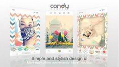 Candy Camera aplikasi fotografi gaya permen for android gratis