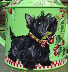 ScottishTerrier Watering Can