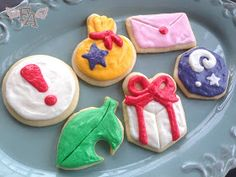 """Fiction-Food Café: """"Animal Crossing: New Leaf"""" Frosted Sugar Cookies"""