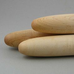 French Rolling Pin: Perfect for pastry, these remind me of baguettes! $16