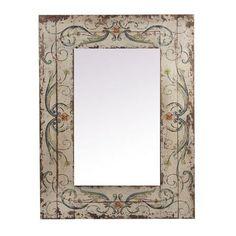 Flower Rectangular Mirror