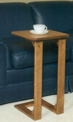 Sofa Server..nice Little Table To Set Your Drink ,book Or Lap Top