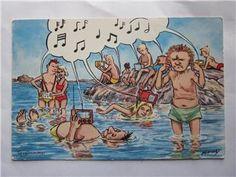 Ahlstrand julkort - Google otsing Comics, Google, Art, Vacations, Art Background, Kunst, Cartoons, Performing Arts, Comic