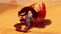 E se Game of Thrones fosse um desenho da Disney?