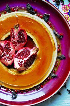 Hibiscus Flan Recipe