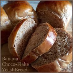 My Mind Patch: Banana Choco-Flake Bread 香蕉可可面包