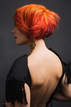 Model- Kahlia /stylist-Tim Dicarlo/ Colourist-Santina Fazio/ Makeup- Kayreen /Fashion stylist- Tamzen Holland. Stelios papas salon
