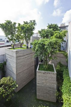 House for Trees: Vo Trong Nghia Architects' green residence in Ho Chi Minh City