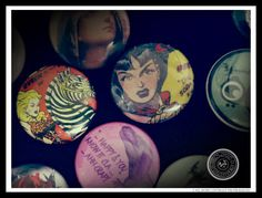 Various badges from different Pin-Pin Badges Collections.