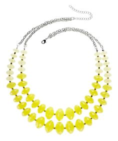 A bit of sunshine! statement necklace @JCPenney