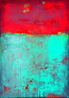 Farbenkombinationen und Strukturen, digitale Versionen meiner Bilder 2