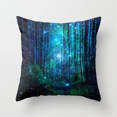 Buy magical path Throw Pillow by haroulita. Worldwide shipping available at Society6.com. Just one of millions of high quality products available.