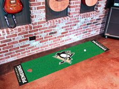 The Pittsburgh Penguins Putting Green Mat