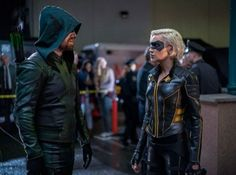 Arrow Reset Time Loop Episode - Courtesy of The CW Canary Arrow, Black Siren, David Ramsey, Supergirl 2015, Flash Supergirl, Dinah Laurel Lance, Arrow Cw, Team Arrow, Belle