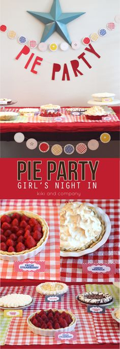 Pie Party Girls Night in at kiki and company with #edwardspies. Come see how simple it is to have a fun and tasty Girls Night In! #pmedia #ad