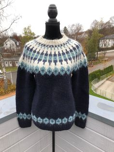 Excited to share this item from my #etsy shop: Norwegian sweater - handknit   #sweater #knitted #knit #norwegian #nordic #sweater #lopi #handknit #unisex