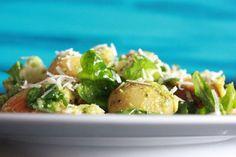 no Comfort Food, Pesto, Sprouts, Potato Salad, Avocado, Potatoes, Chicken, Kollektiv, Vegetables