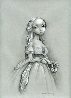 """""""The Portrait"""" by Benjamin Lacombe"""