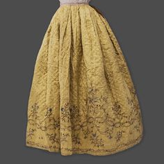 1db5839bf5fb C.1750 embroidered and quilted petticoat from the exhibit