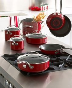 My red Kitchenaid cookware and I are inseparable!