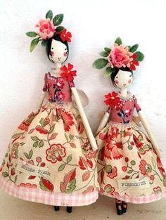 Fairy Mother Fleur and Fleurette