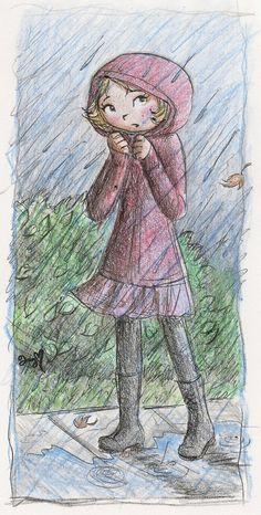 Violet from WordGirl. I (unsecretly) love PBS cartoons. Rainy by superstarwordgirl.deviantart.com on @deviantART