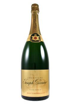 Joseph Perrier Vintage 2002 Cuvee Royale Brut Magnum, £99.95 (http://www.frazierswine.co.uk/joseph-perrier-vintage-2002-cuvee-royale-brut-magnum/)