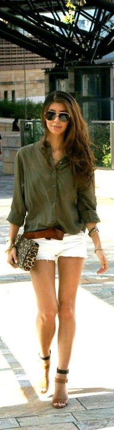 outfit, shorts, so cute, so all over Italy right now.