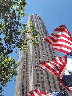 GE Building, Rockefeller Center. NYC