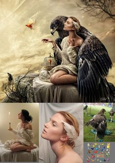 Amazing examples of photo manipulation - blog post from designsmix.com (http://tinyurl.com/o8bxl97)