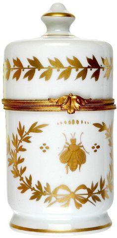 Napoleon Theme Limoges Porcelain
