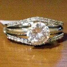 14kt Yellow Gold Solitaire Enhancer Diamonds Ring Guard Wrap Wedding Band (0.25ct. tw)- RG331200349780