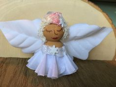 Fairy ornament, angel ornament, Christmas ornament, fairy, fairy décor, flower, Christmas gift, gift, fantasy, pixie, snowflake by FantaSeaStudio on Etsy https://www.etsy.com/listing/491381573/fairy-ornament-angel-ornament-christmas