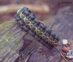 AMULET III Paracord bracelet with Exclusive brass buckle Runic Compass, Survival Knots, Trinity Knot, Bear Paws, Brass Buckle, Paracord Bracelets, Unique Jewelry, Handmade Gifts, Etsy