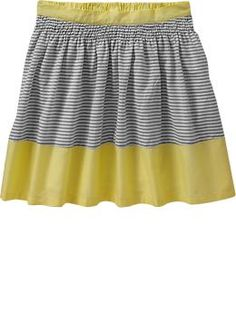 Girls Color Block Skirts  oldnavy.com