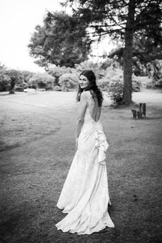 Bride wears Provence wedding gown by Claire Pettibone  | Photography by http://www.theretreat.co/