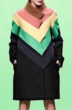 COLOURS COME TOGETHER | JC DE CASTELBAJAC PRE-FALL 2014 — Patternity