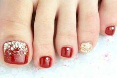 Foot nail Red