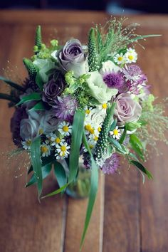 Flo by Charlotte Balbier and Flowers In Her Hair ~ A Rustic Barn Wedding...