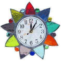 Starburst Clocks - #DianeMarkin