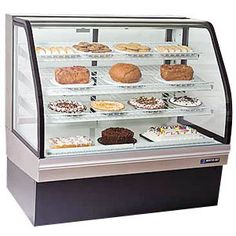 "Master-Bilt CGB-59NR Dry Bakery Display Case 59"" - 24.5 Cu. Ft."