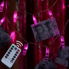 Homeleo 3M 30 LED Remote String Light w Clip for DIY Galleries Bedroom Wedding Party Festival Christmas Decor -- You can get additional details at the image link. This is Amazon affiliate link.